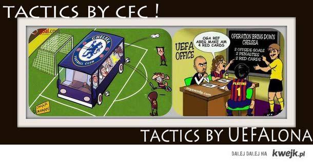 Dzisiejsza strategia Barcelony ;D