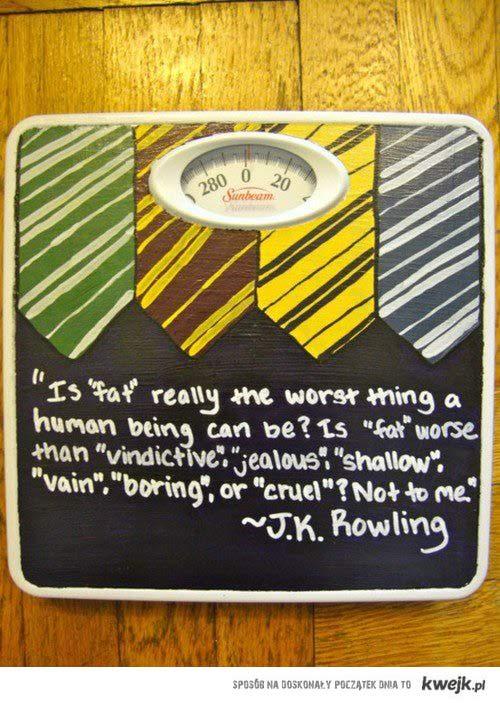 J.K. Rowling = queen.