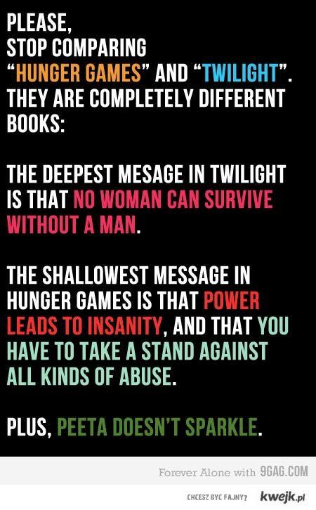 The Hunger Games vs. Twilight