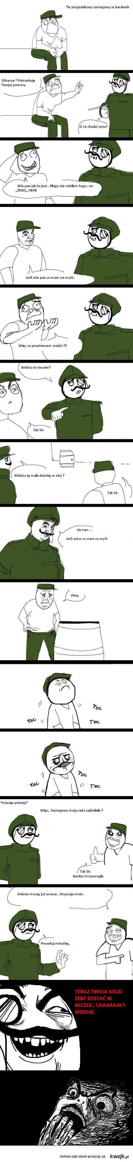 w armii :D