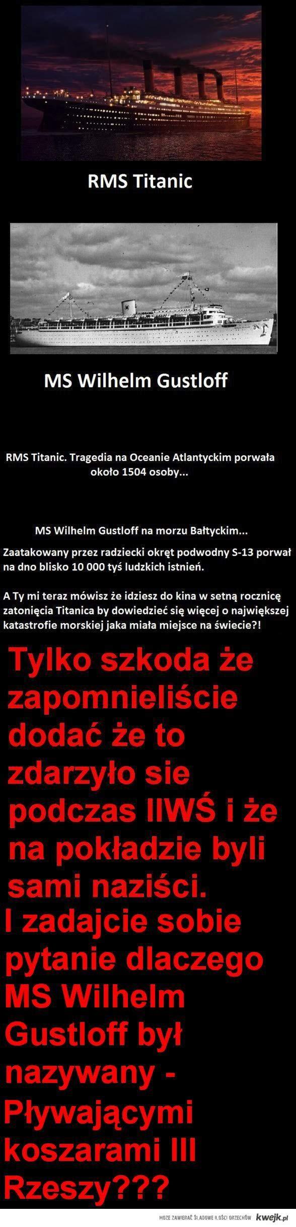 MS Wilhelm Gustloff - wersja prawdziwa