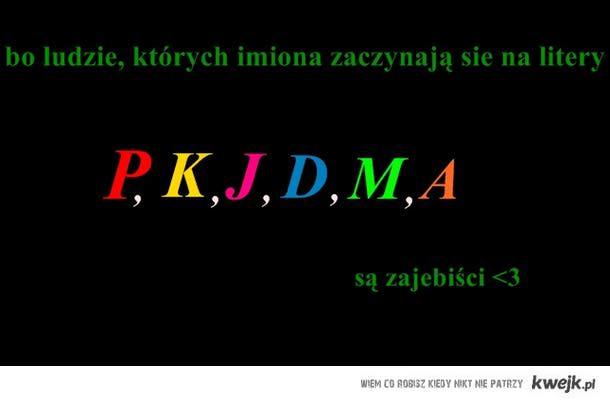 p,k,j,d,m,a