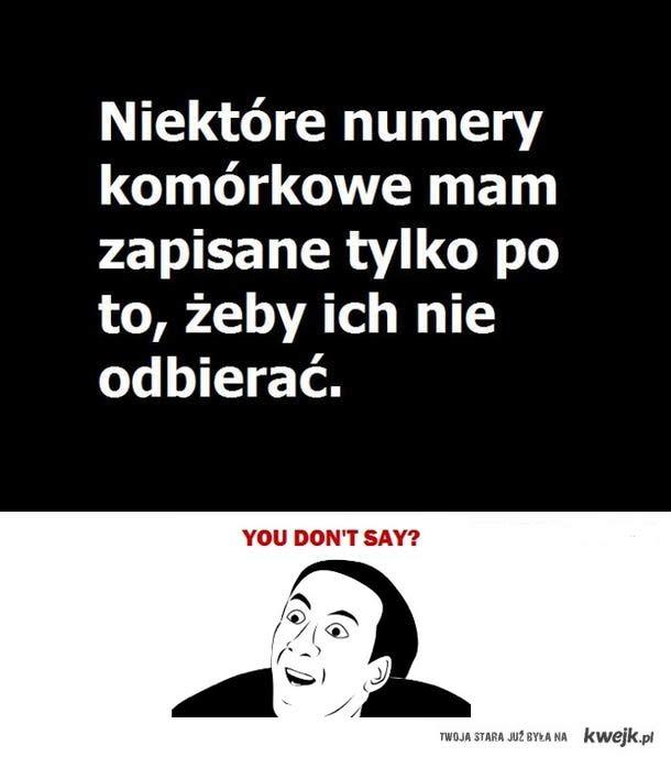 u dont say