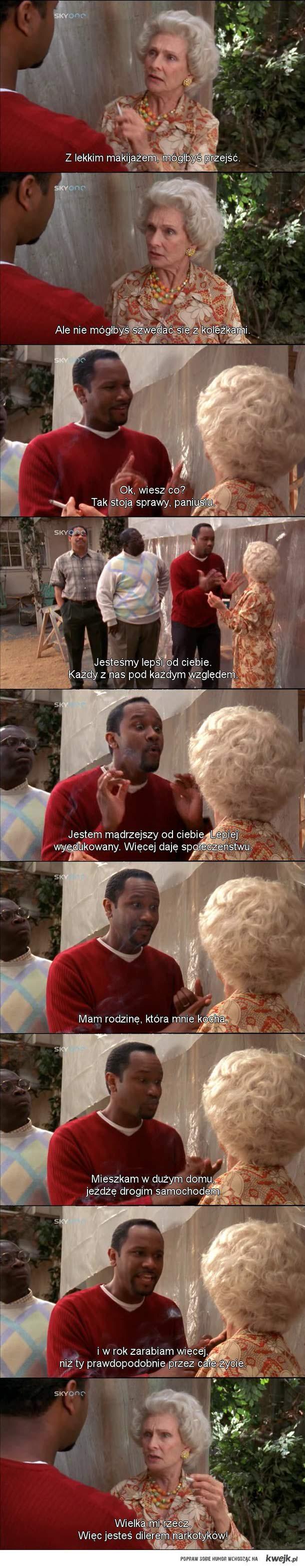 Rasistowska staruszka