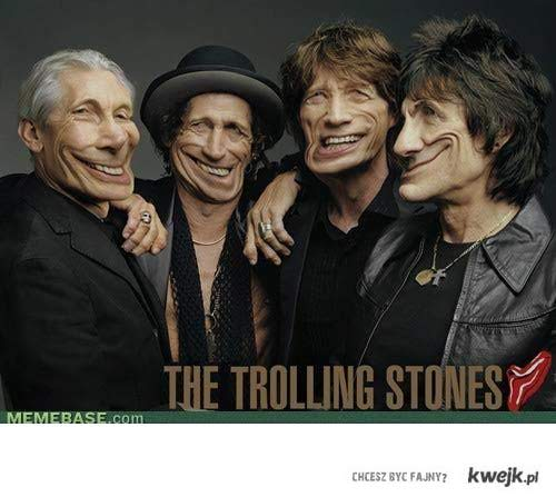 Trolling Stones