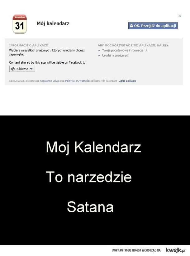 Facebookowe narzędzie Satana