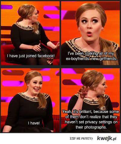 Adele na fb