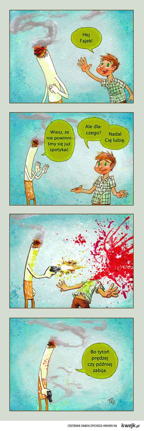 Tytoń zabija!