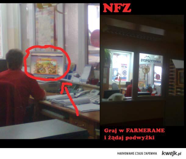 Pracujący NFZ- FARMERAMA