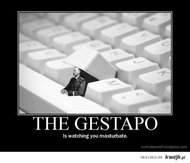 gestapo paczy
