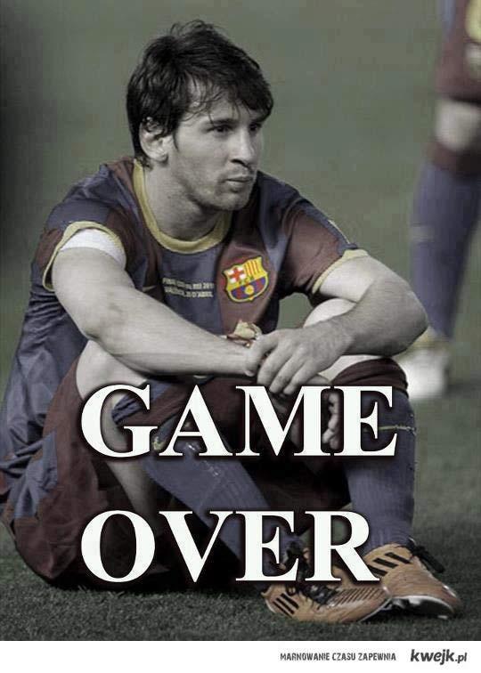 Game Over Barcelono