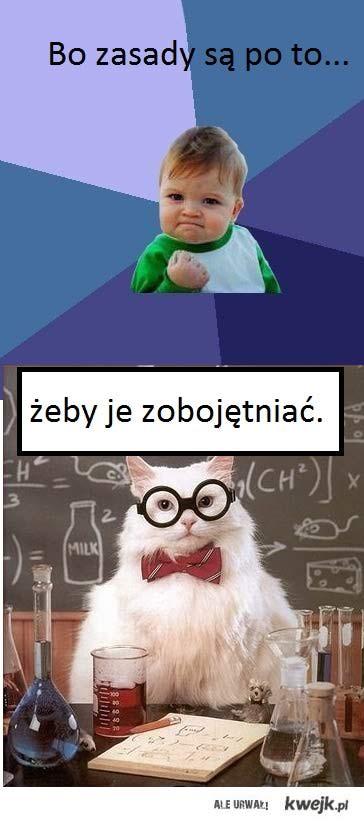 Kont,Nauczyciel chemi niszczy kawał