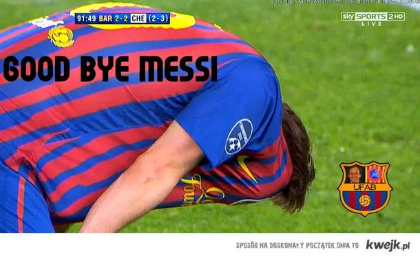 GOOD BYE MESSI