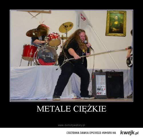 Metale ciężkie :D