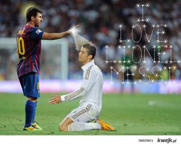 Ronaldo love messi