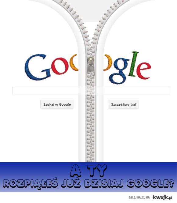 rozpinanie Google