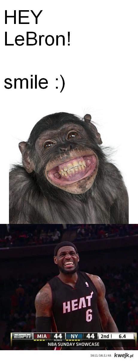 lebron małpka