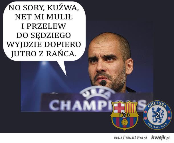 Dlaczego Barcelona odpadła??