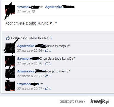 Nowoczesna miłość na FB