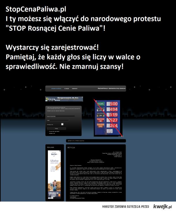 StopCenaPaliwa.pl - Ogólnopolska Akcja Społeczna