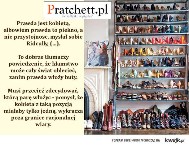 cała prawda o butach