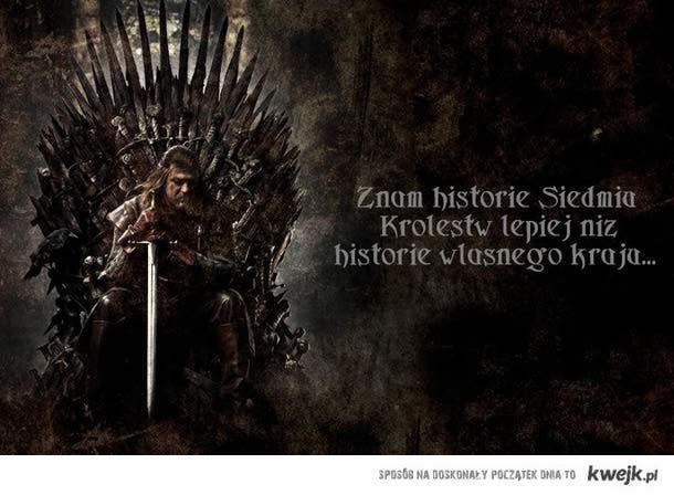 Historia Westeros a  historia Polski