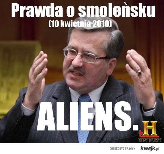 aliens smoleński
