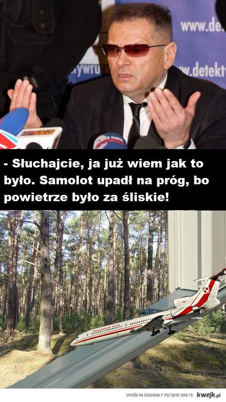 Rutkowski ujawnia sprawę Smoleńską