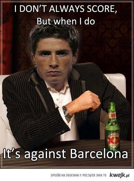 Nie zawsze strzelam, ale jak strzelam to tylko Barcelonie.