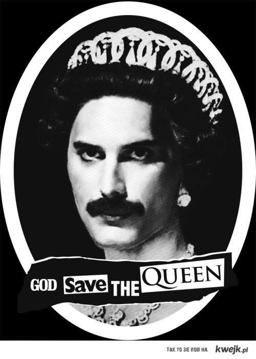 God, save the queen