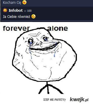 4eva alone infobot
