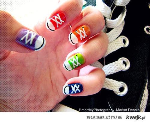 trampkowe paznokcie