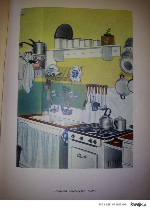 Nowoczesna Kuchnia z lat 60