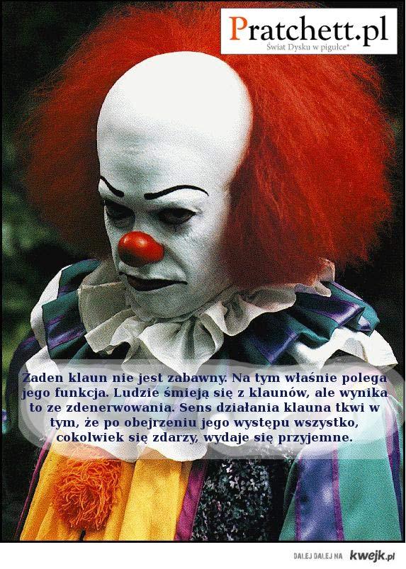 klaun - Pratchett