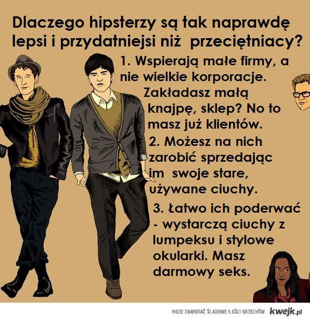 dbaj o swojego hipstera