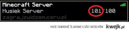 Serwer Huśka jest rozchwytywany! :D
