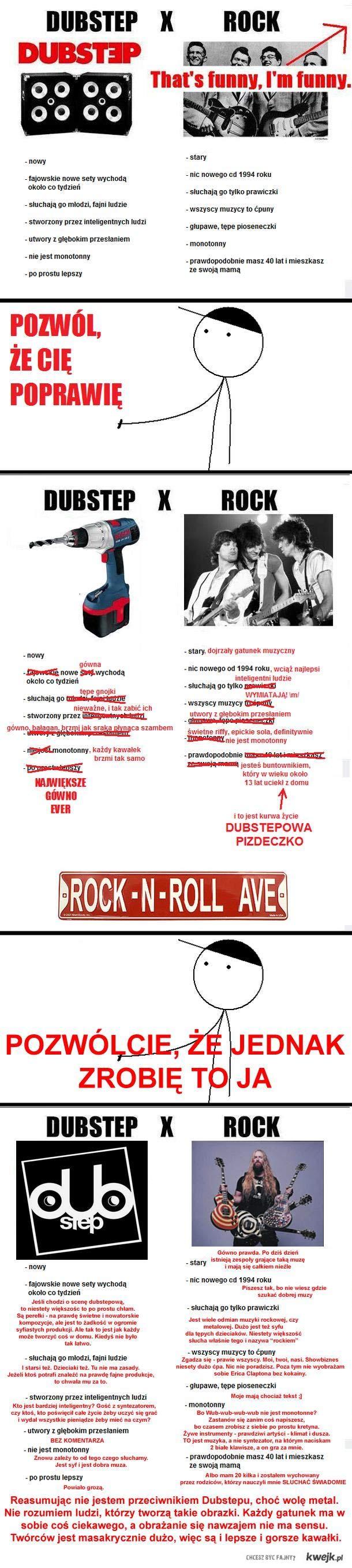 Dubstep VS Rock