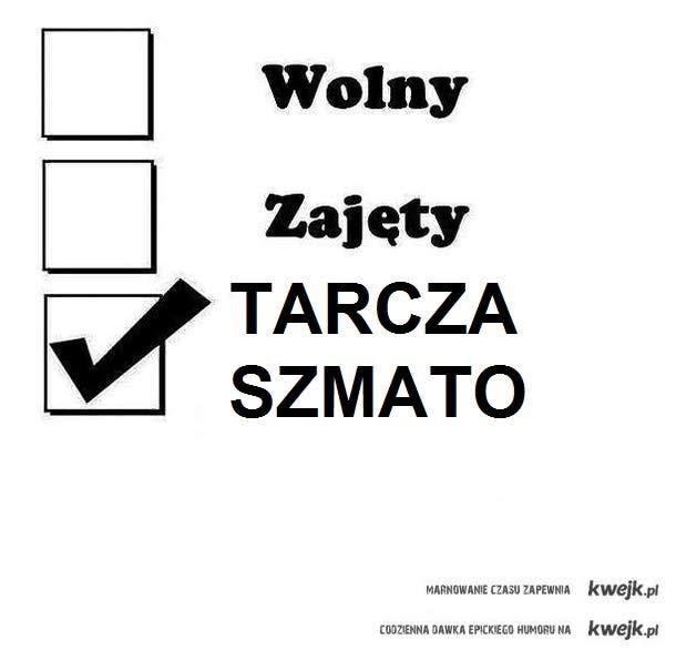 TARCZA SZMATO! :D