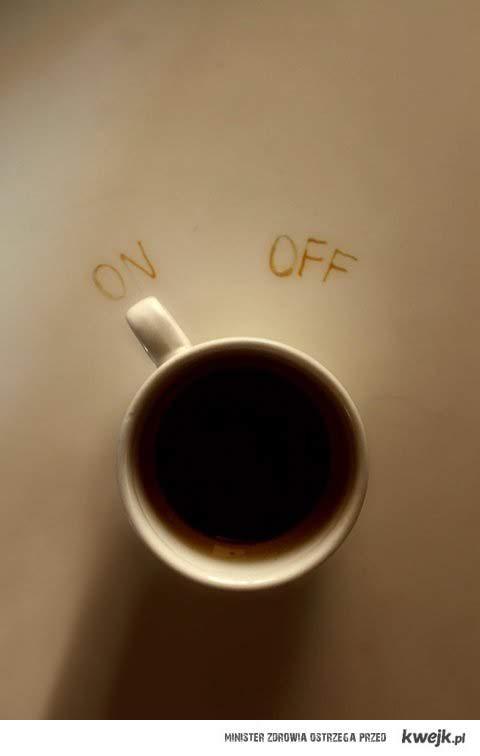 kawowy włącznik