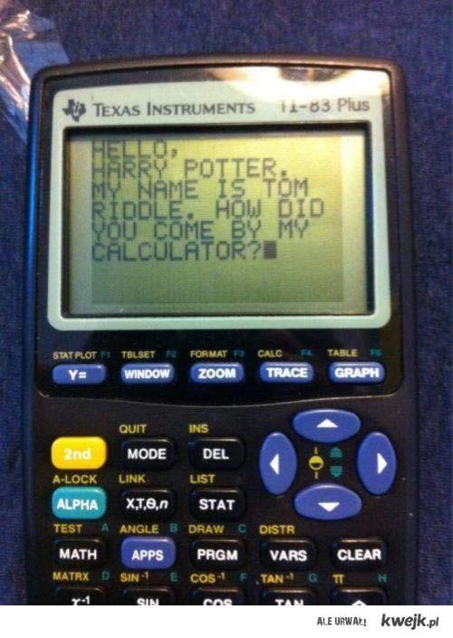 Kalkulator Toma Riddle'a