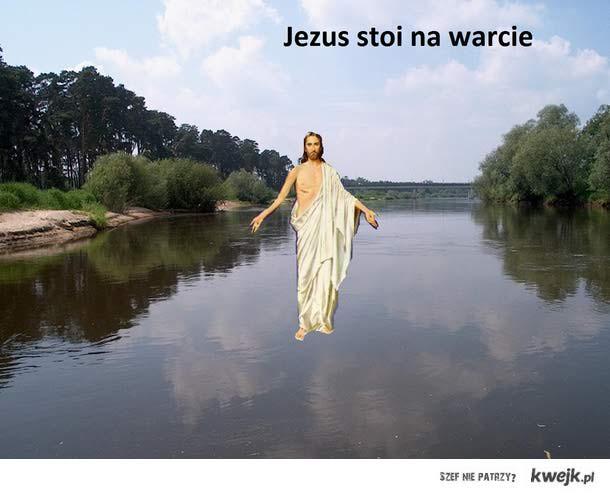 Jezus stoi na warcie