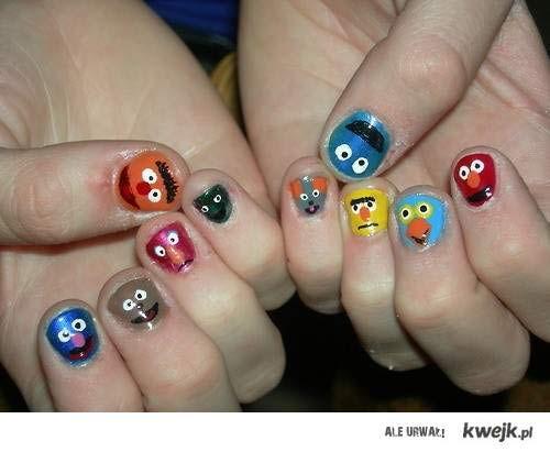seasame street nails