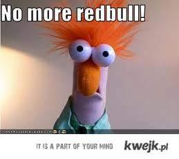 no more redbul