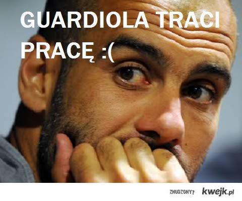 Guardiola lost work