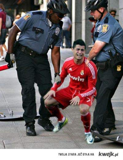 Ronaldo policja