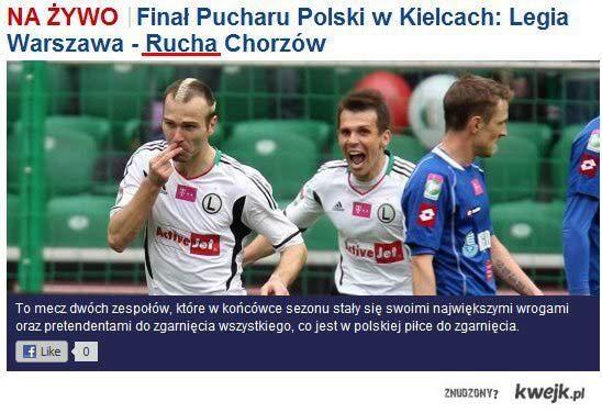 Legia Warszawa najlepiej w polsce rucha :)