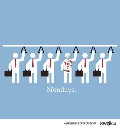 poniedziałki...