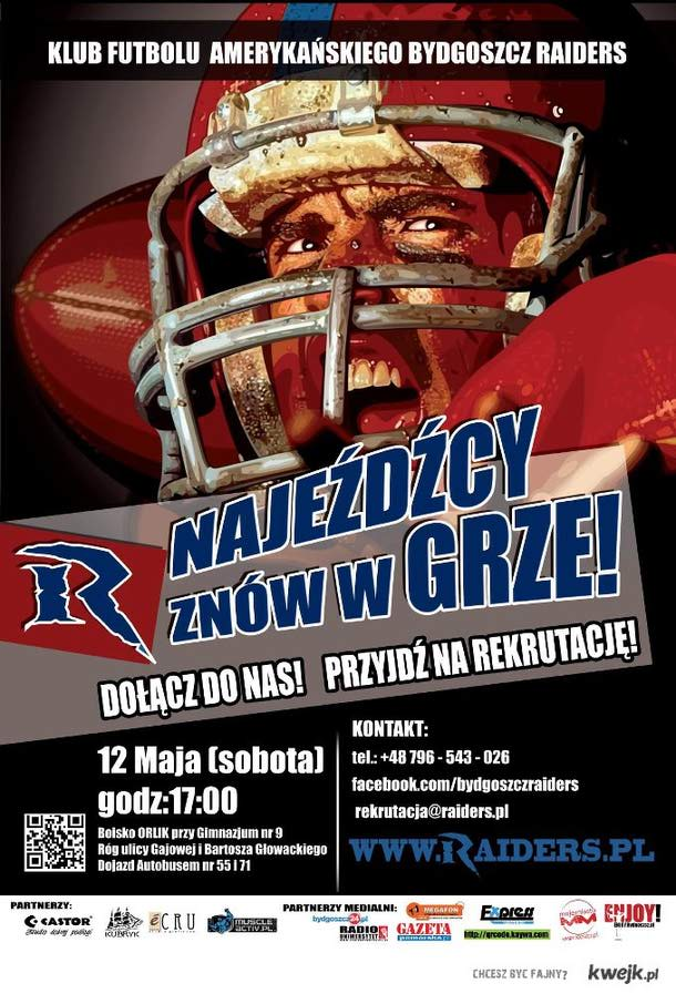 Bydgoszcz Raiders Rekrutują