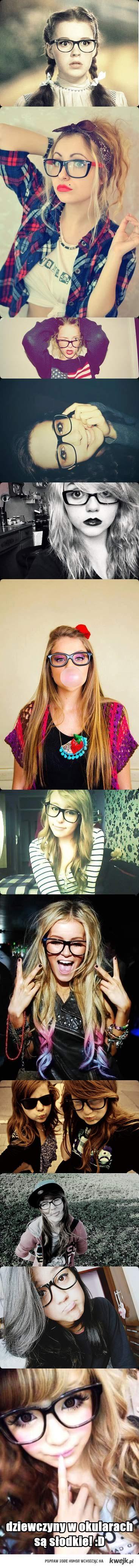 dziewczyny w okularach<3