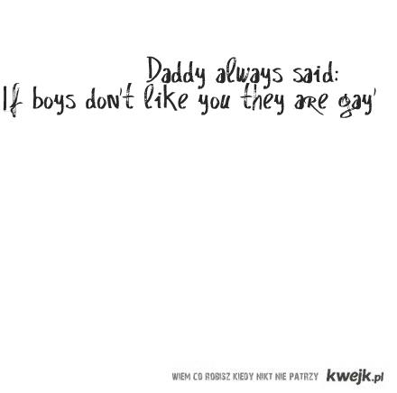 Tata mówił...